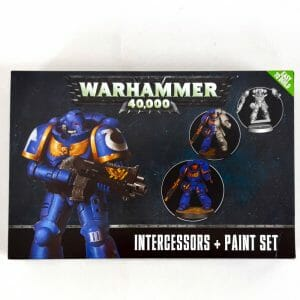 warhammer 40000 intercessor paint set