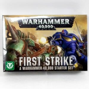 warhammer 40000 first stike primo colpo