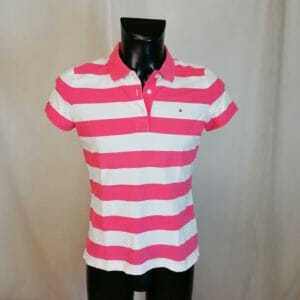 tommy hilfiger polo a righe